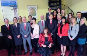 Travel and Leisure Group Staff January 2015