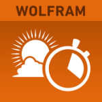 Best Travel Apps: Wolfram Sun Exposure