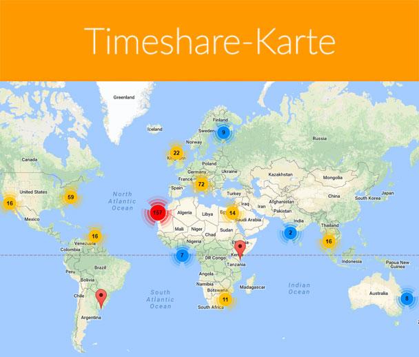 Timeshare-Karte
