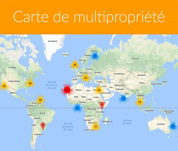Carte de multipropriété