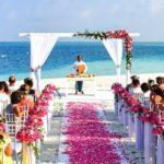 Strand bröllop