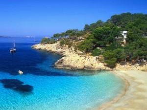 Vue d'Ibiza