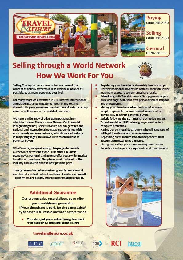 Sälja via ett globalt nätverk