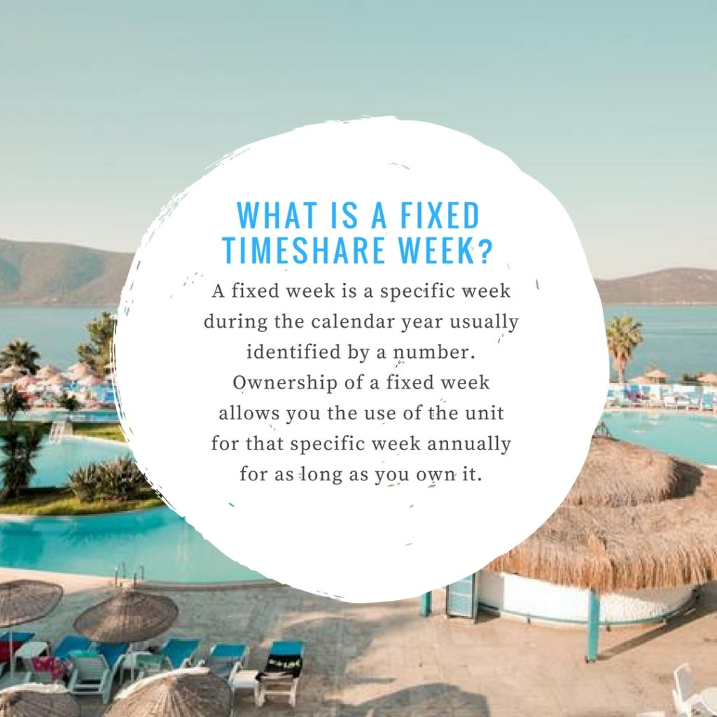Timeshare Fixed Week