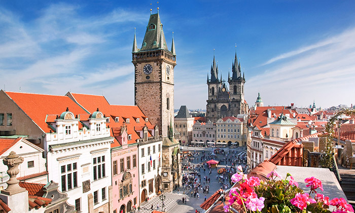 cheap flights prague