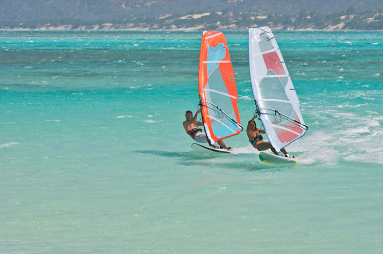 Timeshare windsurfing