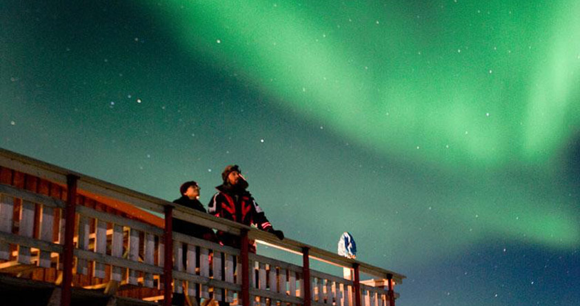 hotel Northern lights