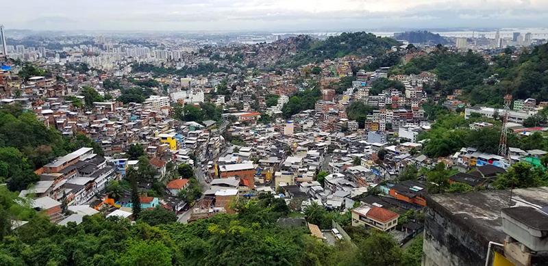 Brésil rio favela