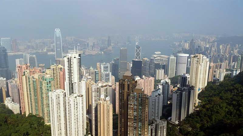 Hongkong Peak Lookout