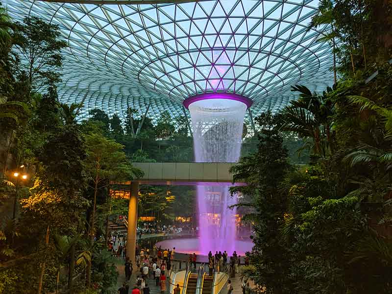 Jewel Changi flyplass