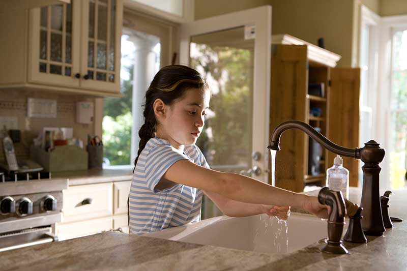 Coronavirus Hände waschen